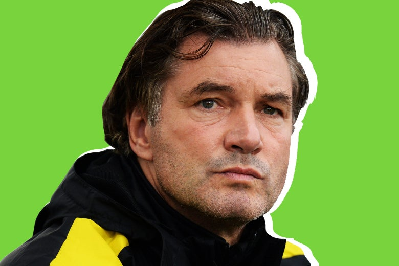 Team Manager Michael Zorc of Dortmund looks on during the friendly match between AFC Sunderland v Borussia Dortmund at Cashpoint Arena on August 5, 2016 in Altach, Austria.