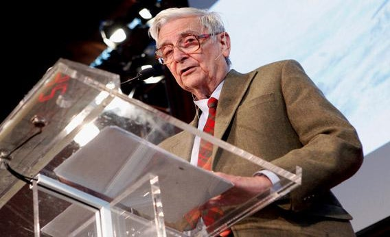 Scientist Edward O. Wilson speaks at the World Science Festival - On The Shoulders Of Giants: A Special Address by E.O. Wilson.