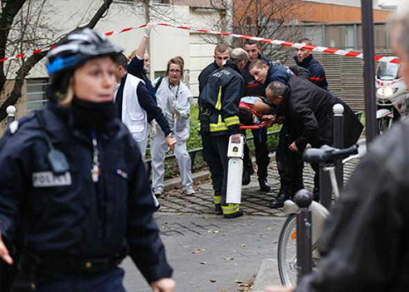 Attack on Charlie Hebdo offices