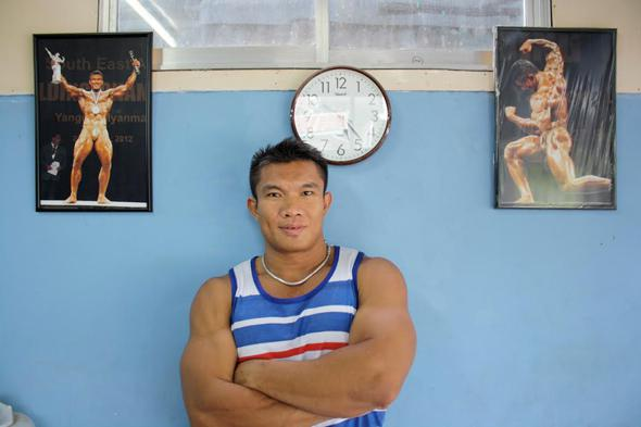 Myanmar's medal hopes hang on the controversial and somewhat brash Aung Swe Naing.