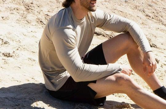 Vapor Apparel Men's UPF 50+ UV Sun Protection Performance Long Sleeve T-Shirt.