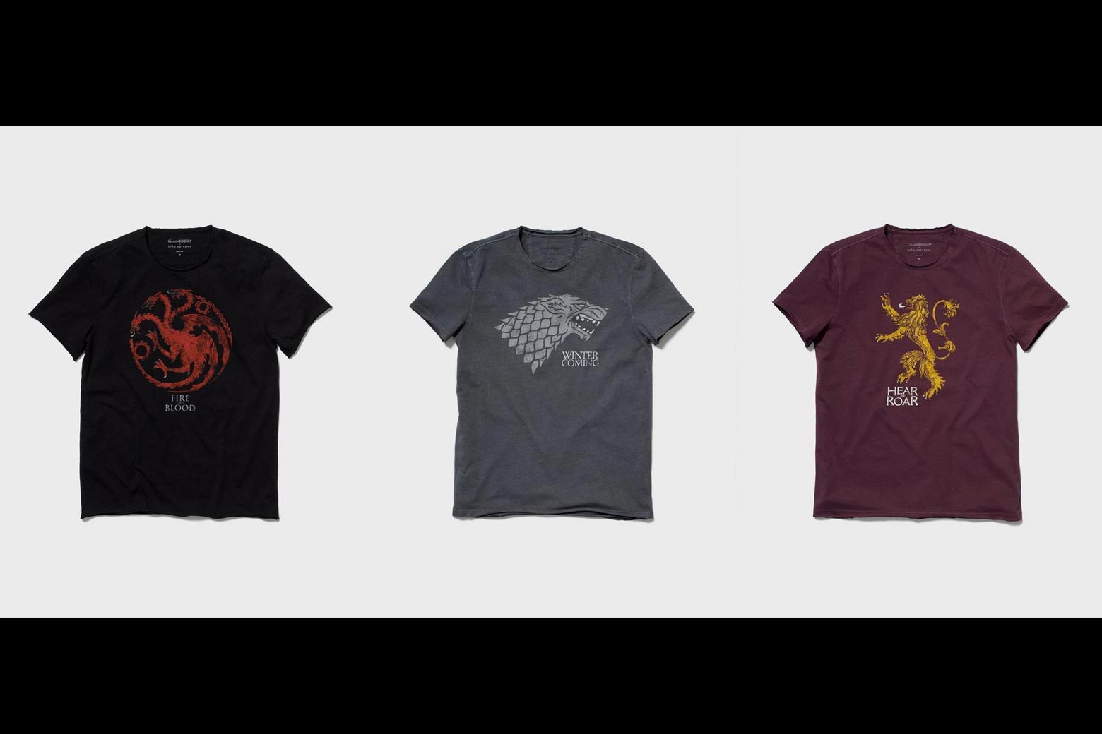 John Varvatos' Game of Thrones-branded T-shirts. Only $98!
