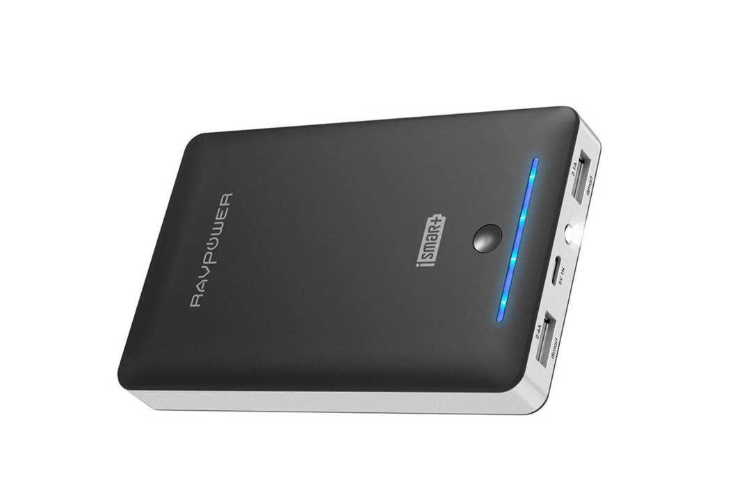 RAVPower external battery.