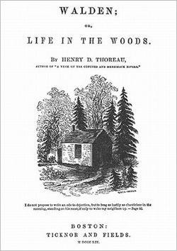Original Walden book.