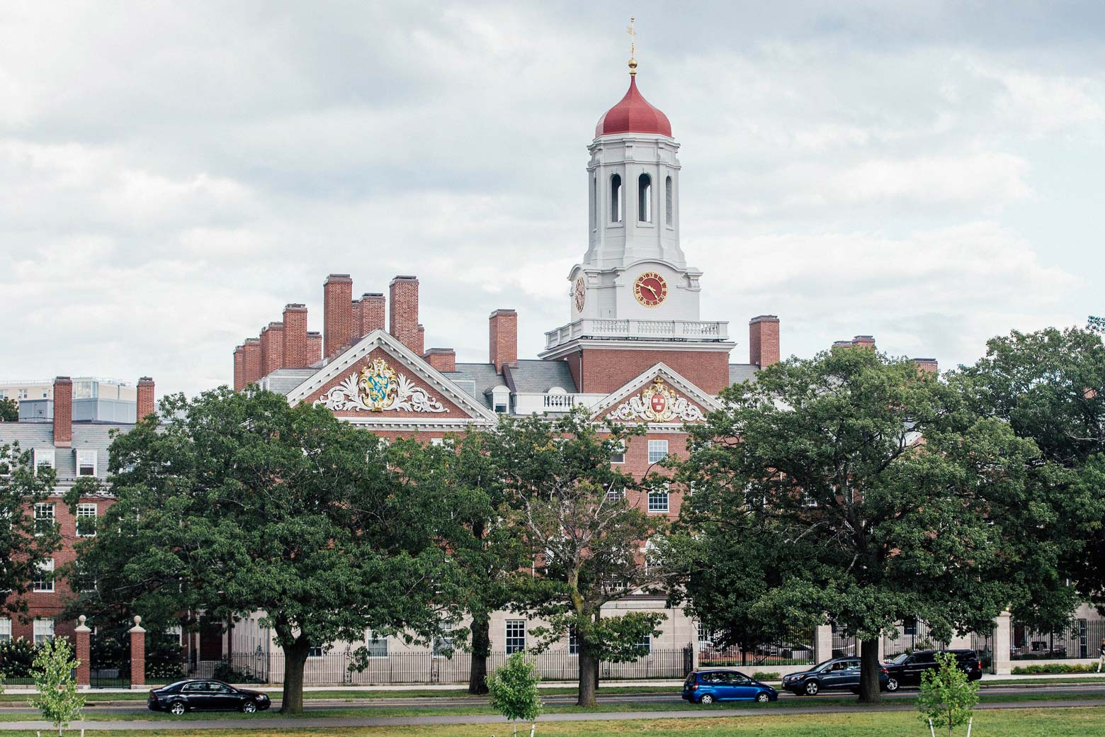 A Harvard University building in Cambridge, Massachusetts on Aug. 30.