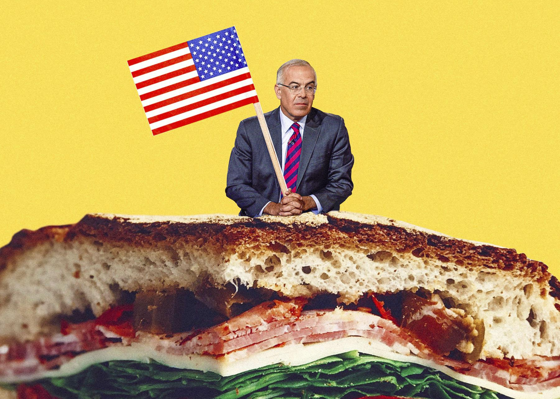 David Brooks, Sandwich