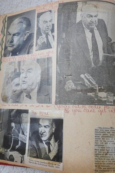 Watergate scrapbook, chairman two.