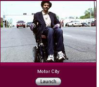 Click here to launch a slide show on motorized wheelchairs.