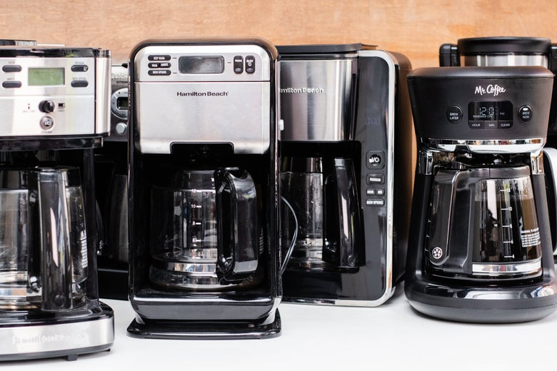 Eight cheap coffee makers
