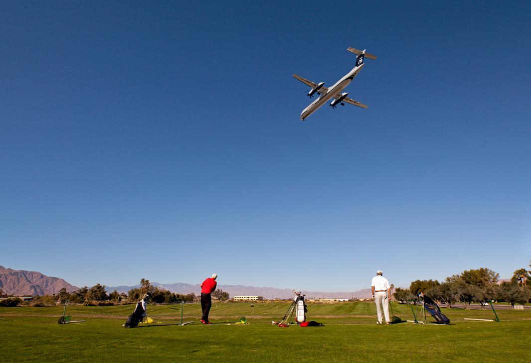 Golf Course Plane.