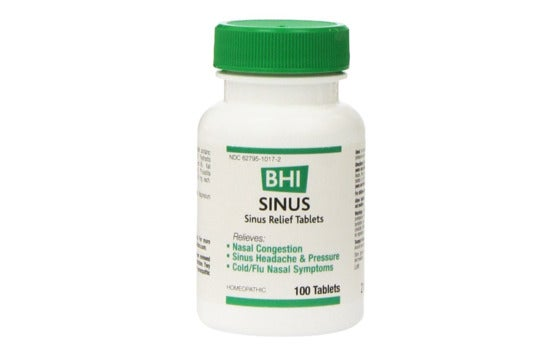 BHI Sinus Relief Tablets.
