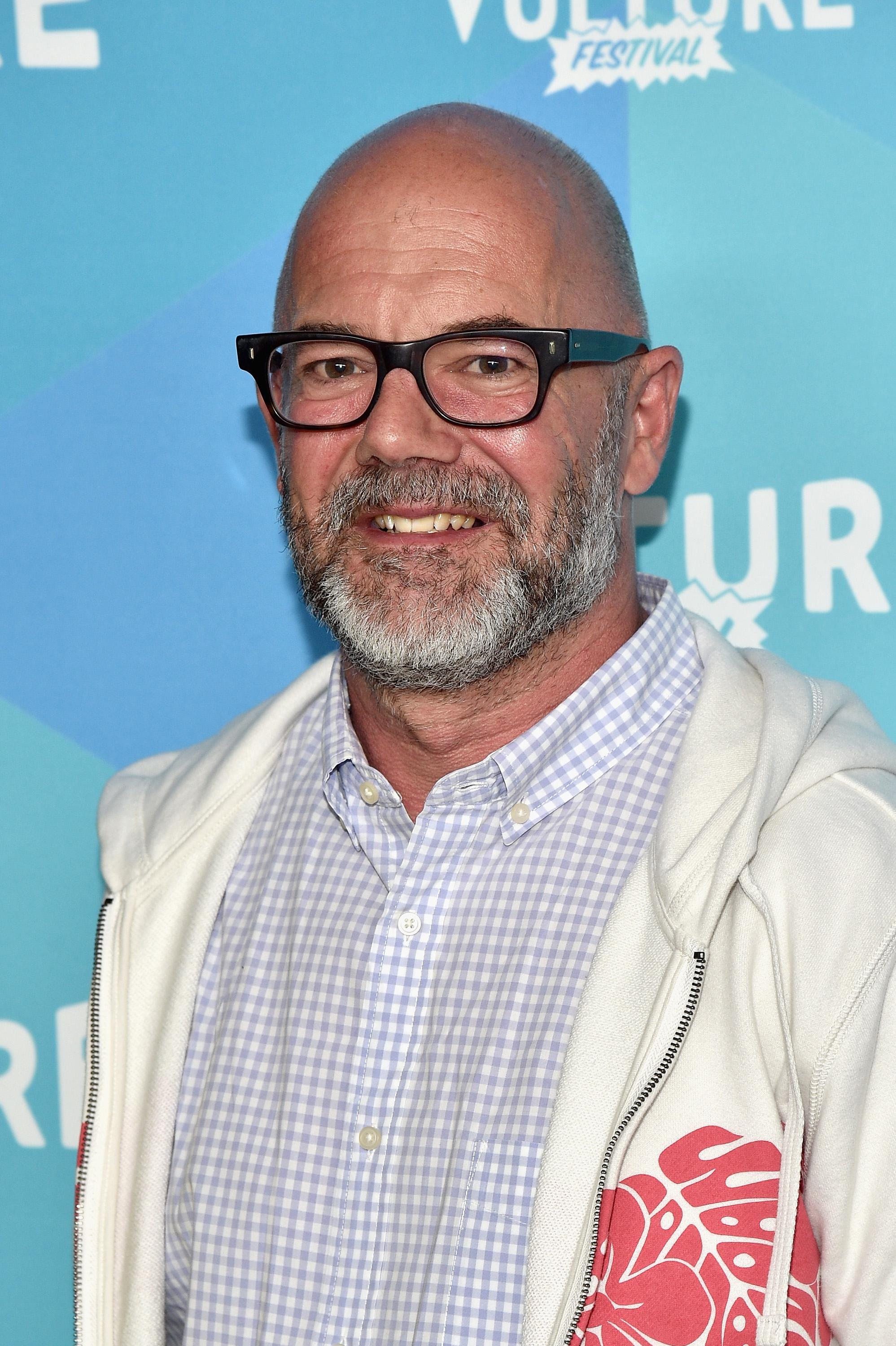 Andrew Sullivan attends the 2017 Vulture Festival in New York City.
