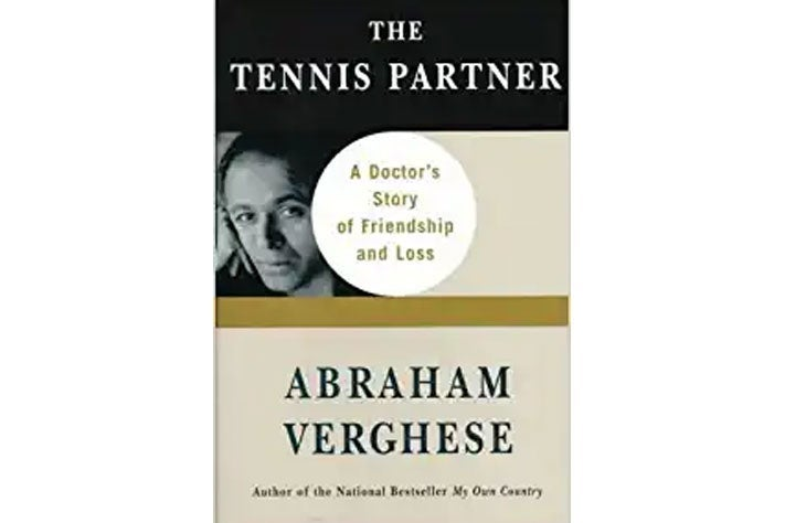The Tennis Partner book cover.