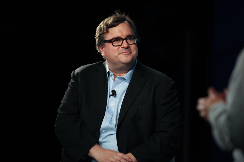 Reid Hoffman claimed he didn't know his money was being used for a disinformation effort.