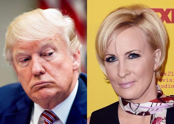 Donald Trump, Mika Brzezinski.