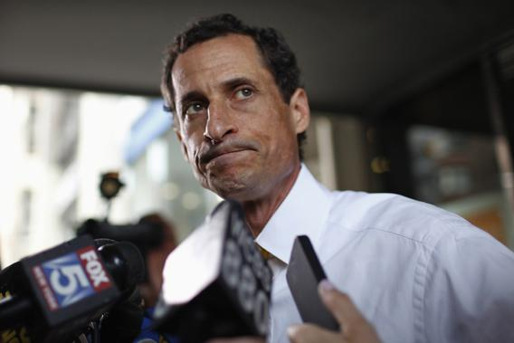 Former U.S. Congressman from New York and currently Democratic candidate for New York City Mayor Anthony Weiner.