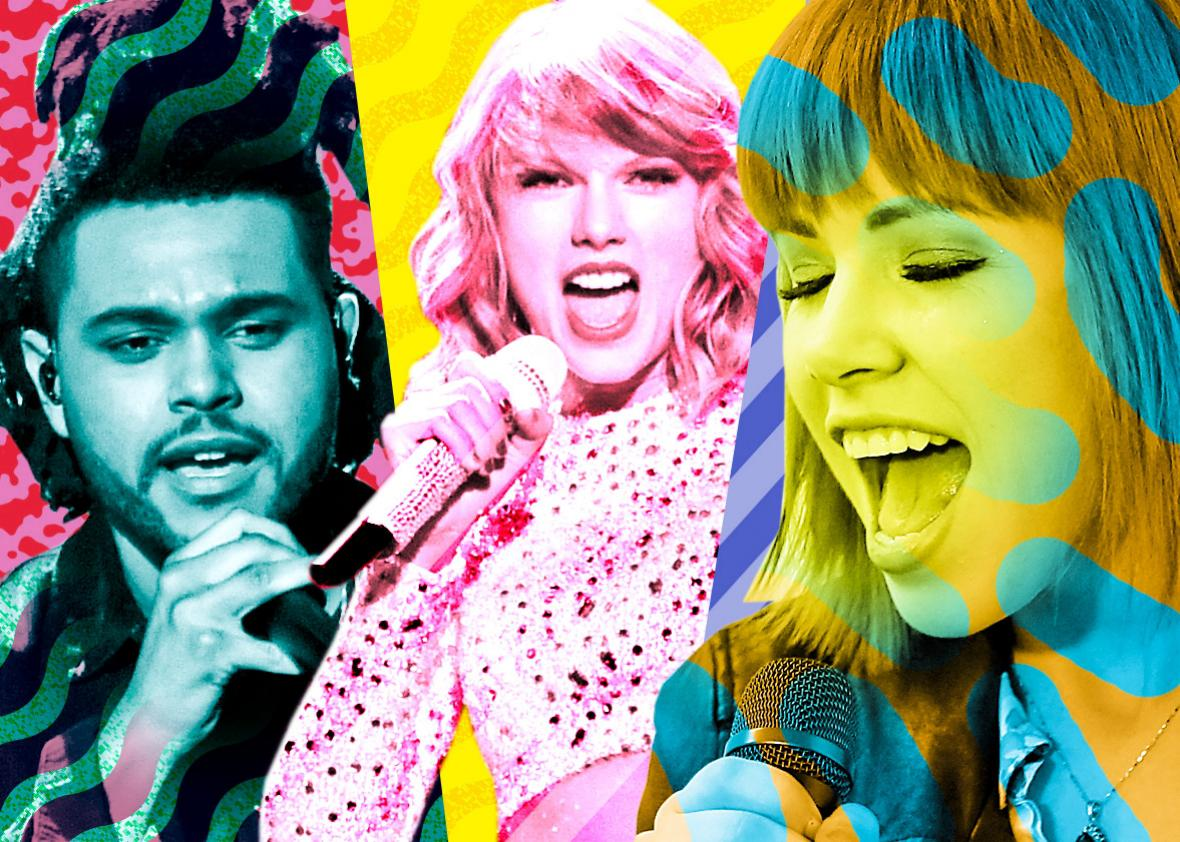 04e4ce1549acb Why are so many of 2015 s biggest pop stars channeling the sound of the  1980s