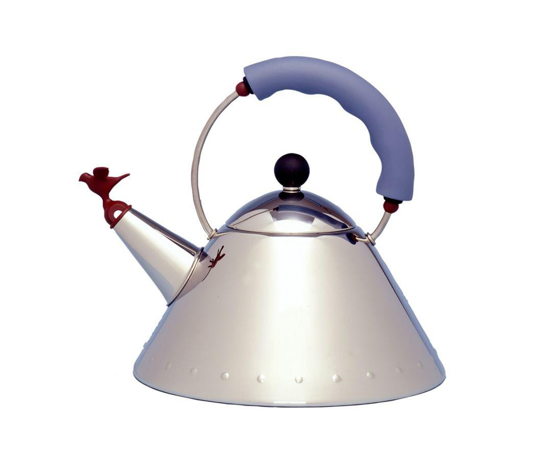 01Whistling Bird Teakettle for Alessi