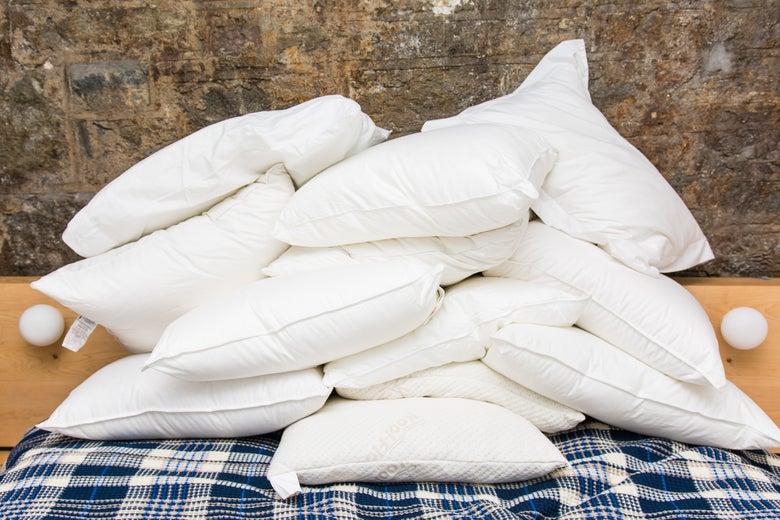 pile of pillows