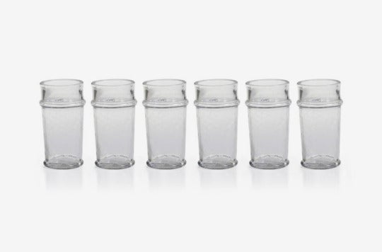 Zodax Fiesta Set of 6 Shot Glasses.