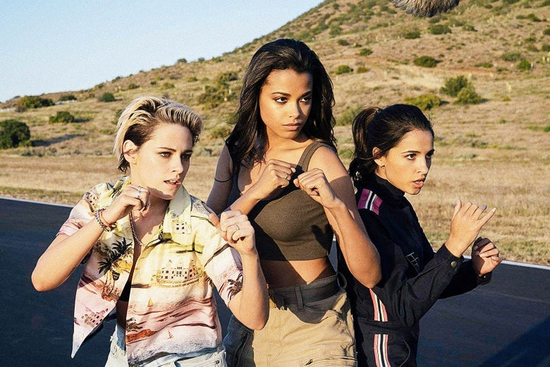 The Dutiful Feminism of the New Charlie's Angels Made Me Miss the Sleazy Camp of the Old Ones