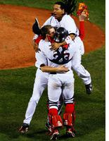 Red Sox celebrate. Click image to expand.