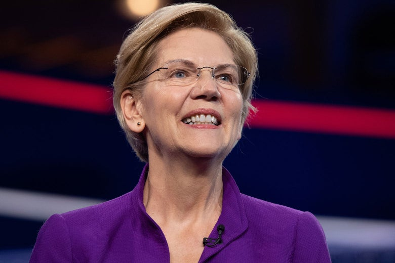 Elizabeth Warren Stands Alone