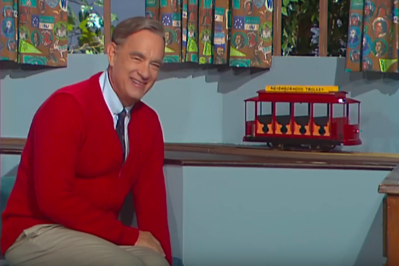 "The Tom Hanks-as-Mr. Rogers Movie Trailer Says It All: ""Please Don't Ruin My Childhood"""