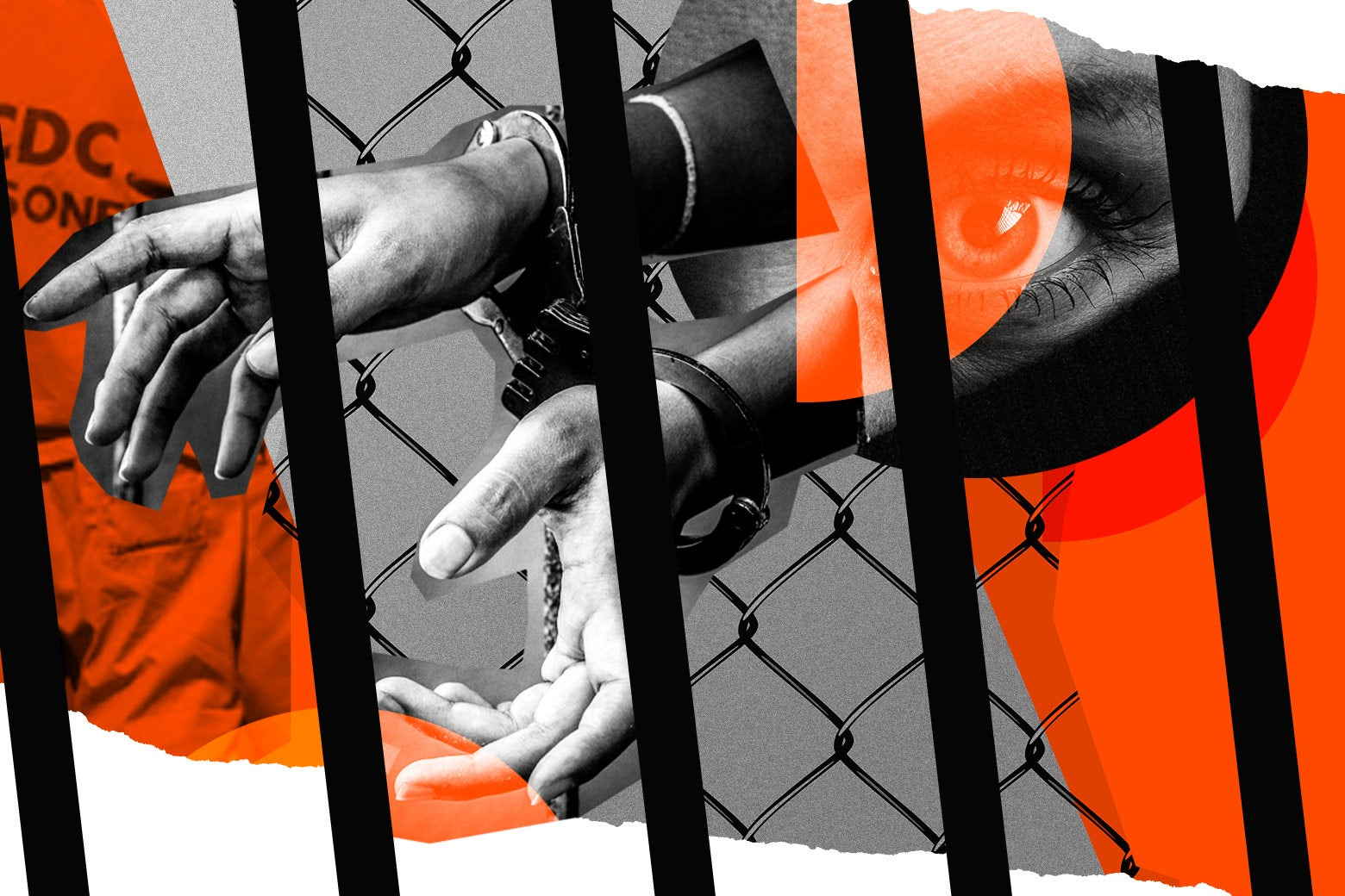 Women's prison collage.
