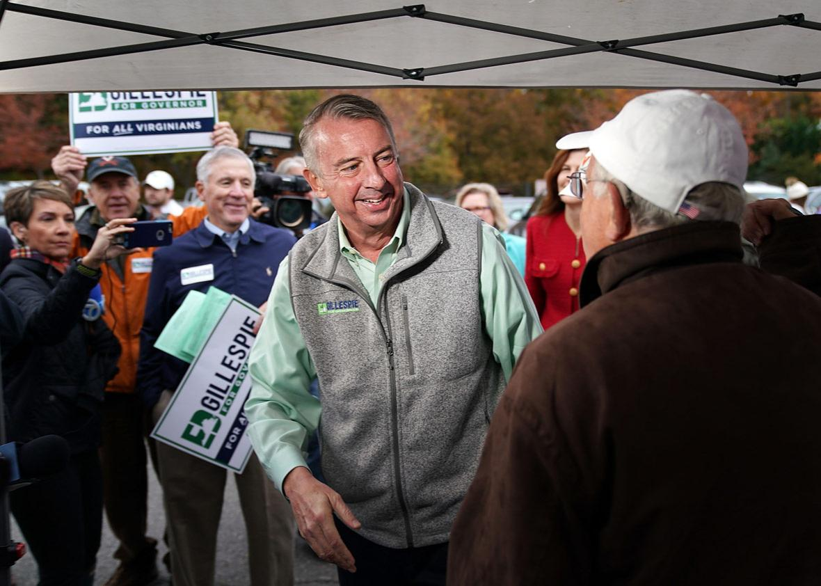 Republican candidate for Virginia governor Ed Gillespie