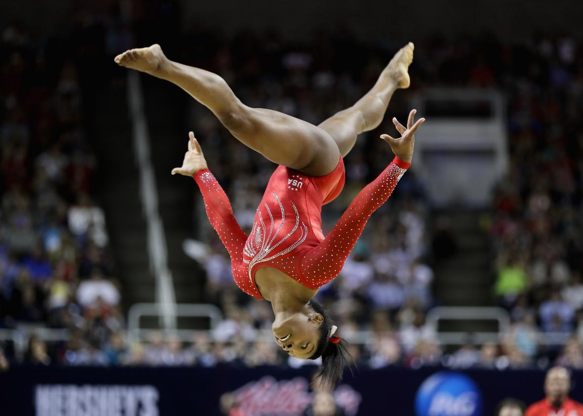 The Best Photos From The 2016 U S Women S Gymnastics