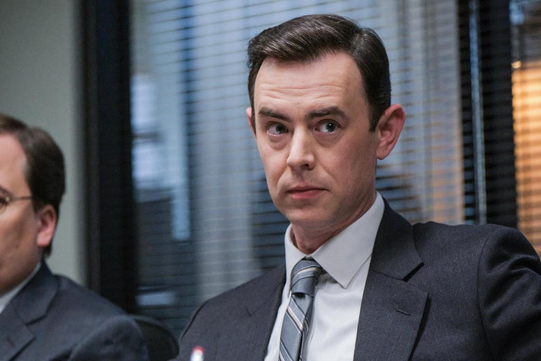 Colin Hanks as Mike Emmick in Impeachment