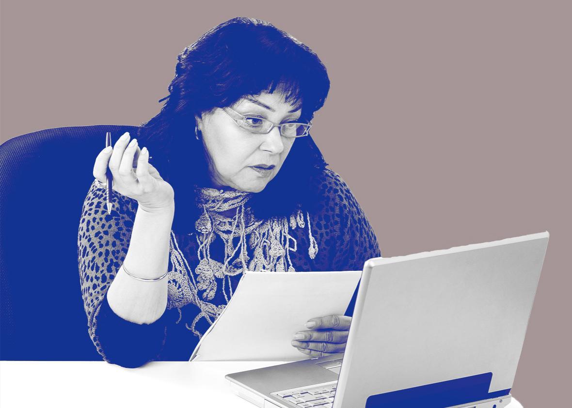 online professor.