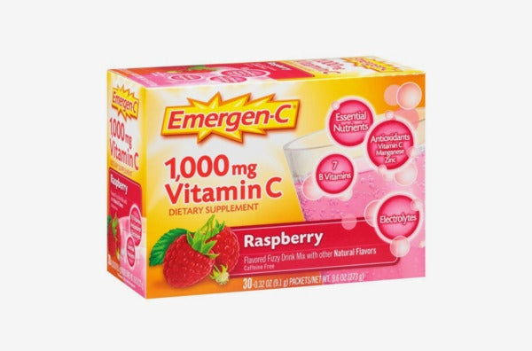 Emergen-C Dietary Supplement Fizzy Drink Mix With 1000mg Vitamin C.