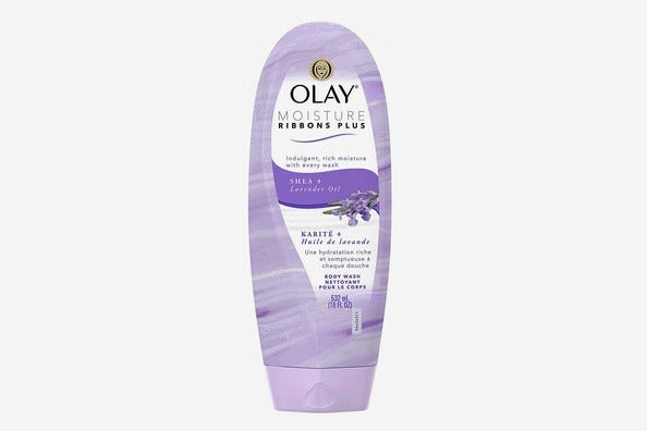 Olay Moisture Ribbons Plus Shea + Lavender Oil Body Wash