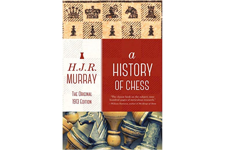 A History of Chess book jacket