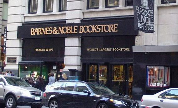 Barnes & Noble flagship on 18th and Fifth in Manhattan