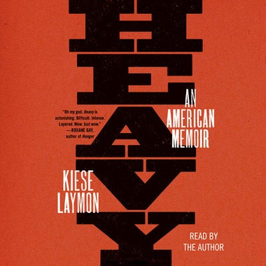 Heavy: An American Memoir audiobook cover.