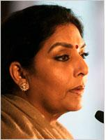 Renuka Chowdhury. Click image to expand.