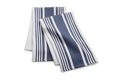 Crate and Barrel Cuisine Stripe Dish Towel