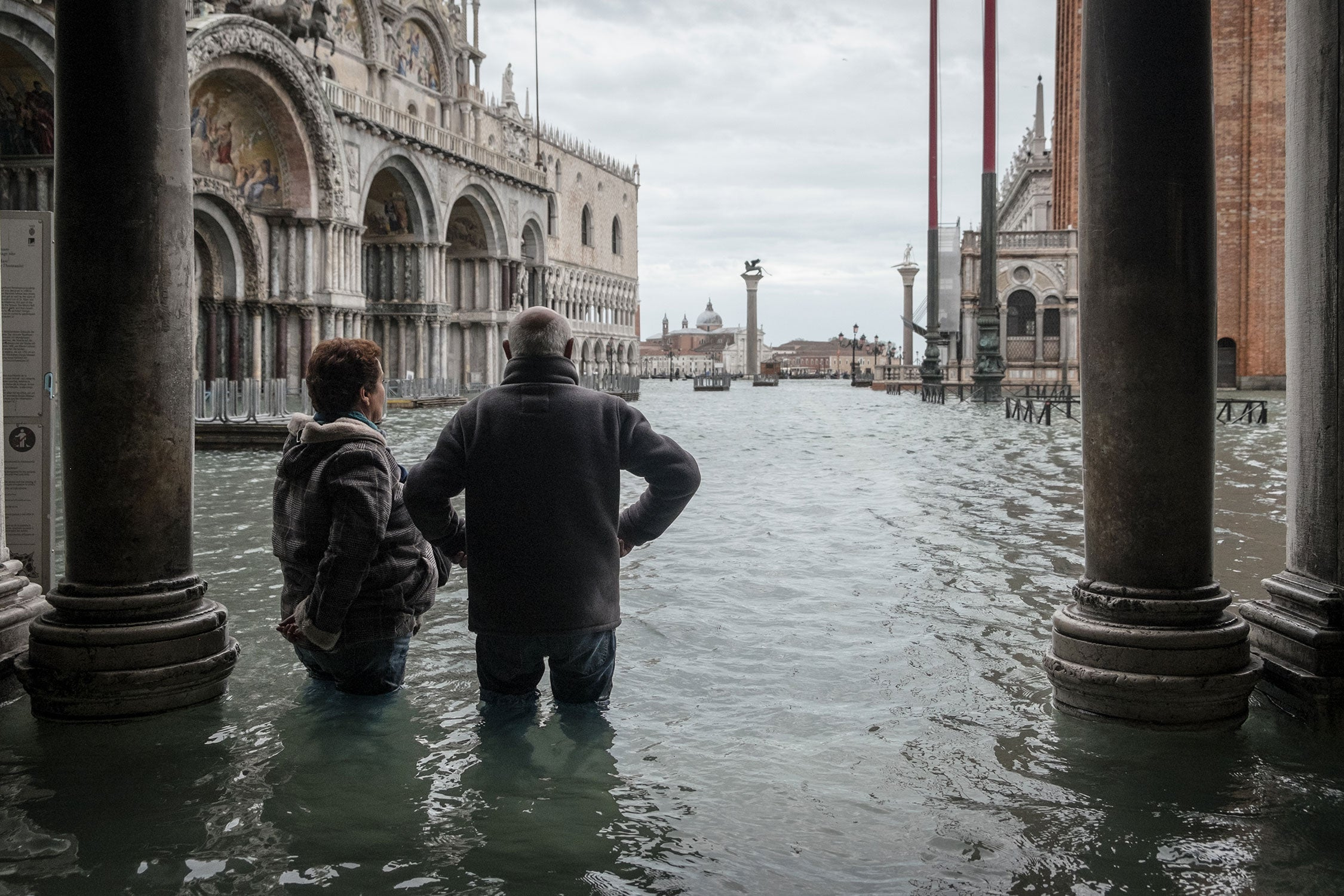 Venice's Flooding Has Become Another Tourist Attraction