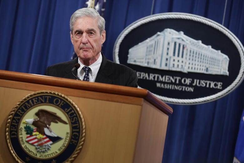 Robert Mueller's surprise news conference: Twitter's