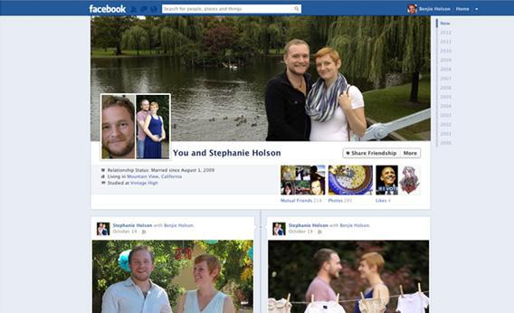 Facebook couples page.