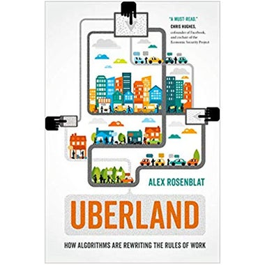 The cover of Uberland.