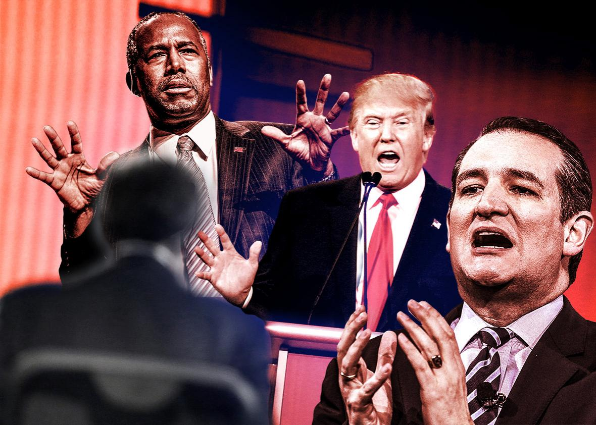 fear mongering Republican presidential candidates Ben Carson, Do