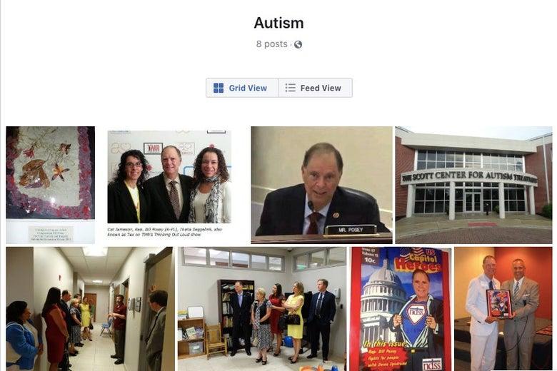 Autism Facebook album
