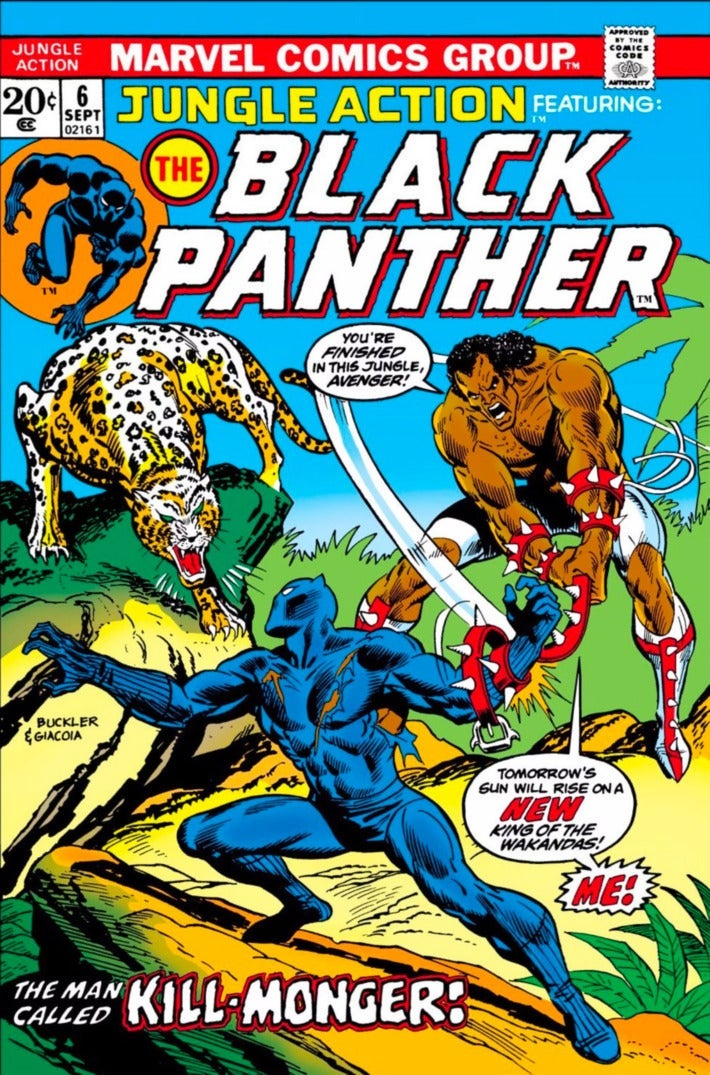Cover of Jungle Action No. 6. Art by Rich Buckler and Frank Giacoia.