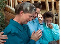 FLDS women at the YFZ Ranch. Click image to expand.