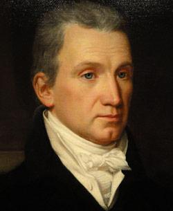 Portrait of James Monroe, 1816.
