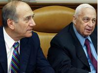 Olmert gets a trial by fire after Sharon's stroke         Click image to expand.